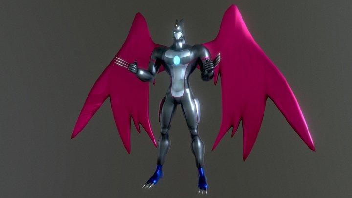 Elemental Hero Dark Neos (Yugioh) 3D Model