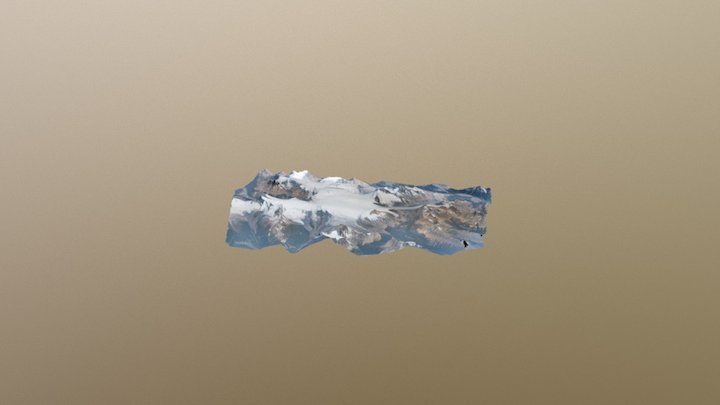 Columbia Icefields 2017 3D Model