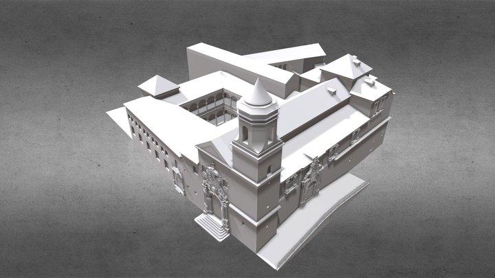 Iglesia y Convento de la Trinidad, Ubeda 3D Model