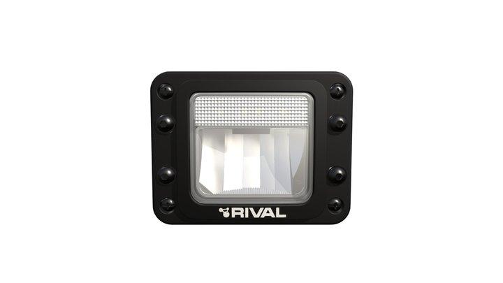 Rival LED Fogcornering and Positon 3D Model