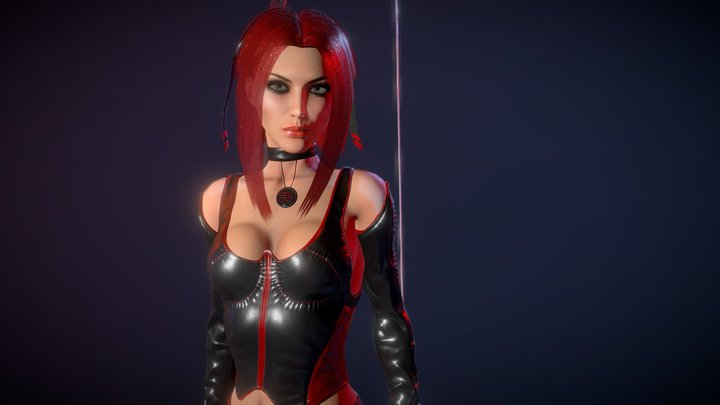 BloodRayne 3D Model
