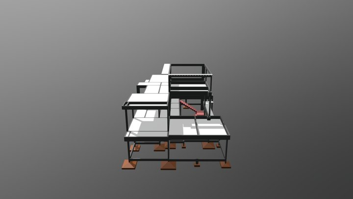 Edificação residencial 3D Model
