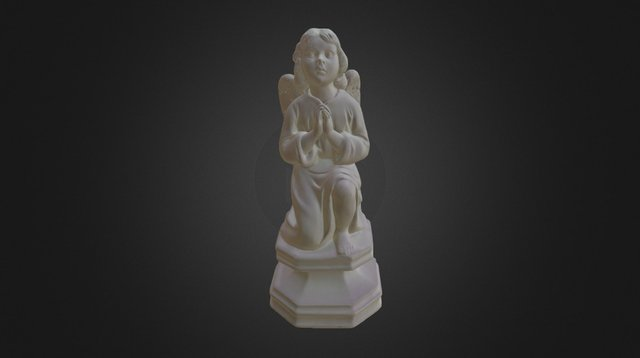 Angel Statue .PLY - Scan in a Box 3D Model
