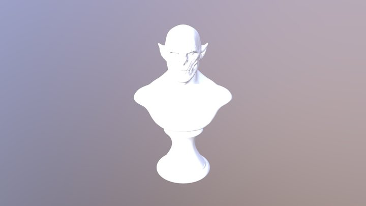 Evil 3D Model