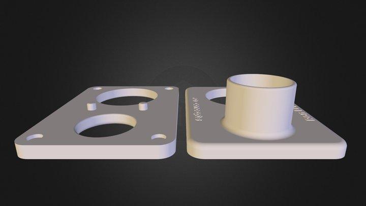 CNC-dustboot-V2 3D Model