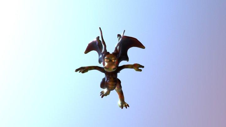 Drogo Text Animated 3D Model