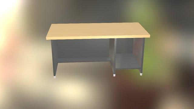 Meja Komputer 3D Model