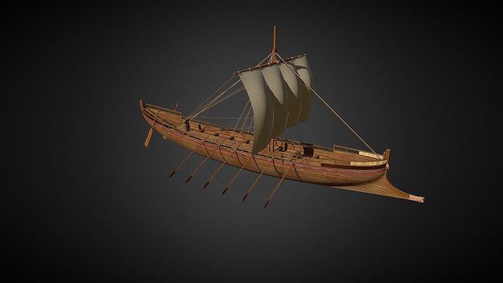 Barca de Jesús/Jesus Boat 3D Model