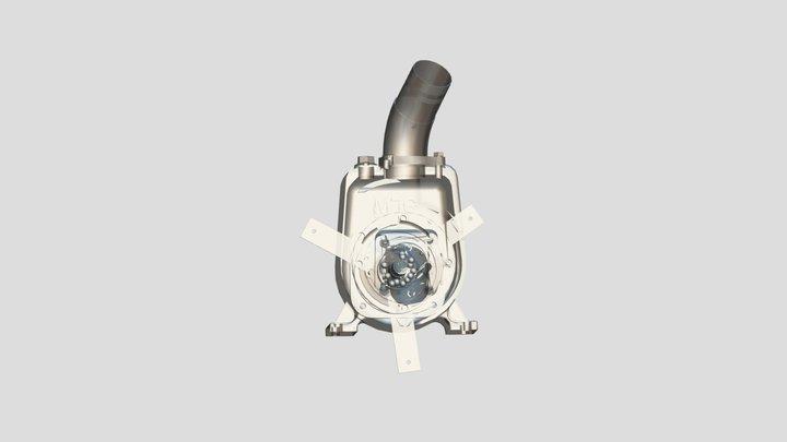 Насос АНС 3D Model