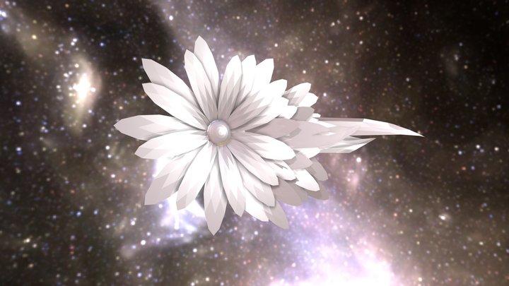 Flower Brotch 3D Model