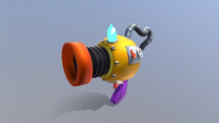 Arma Conceito. 3D Model