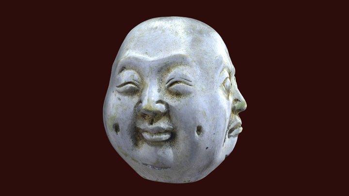 Buddha - Four Faces 3D Model