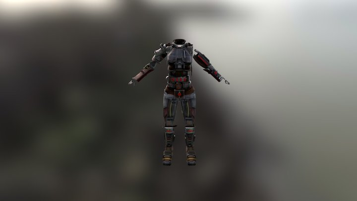 Armoragain 3D Model
