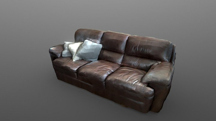 Couch, Quick iPad Pro LiDAR Scan Test 3D Model