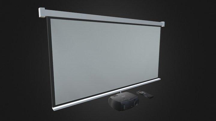 Projector Set 3D Model