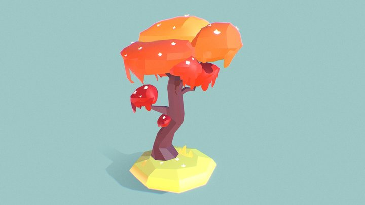 daisy tree 3D Model