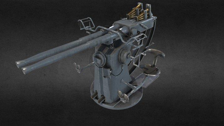 Bofors 3D Model