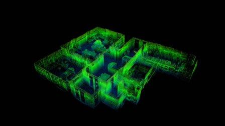 Office - 3D Laser Scan 3D Model