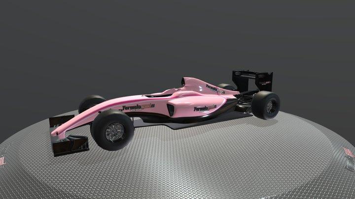 Force India Showcar - Formulaspeed 3D Model