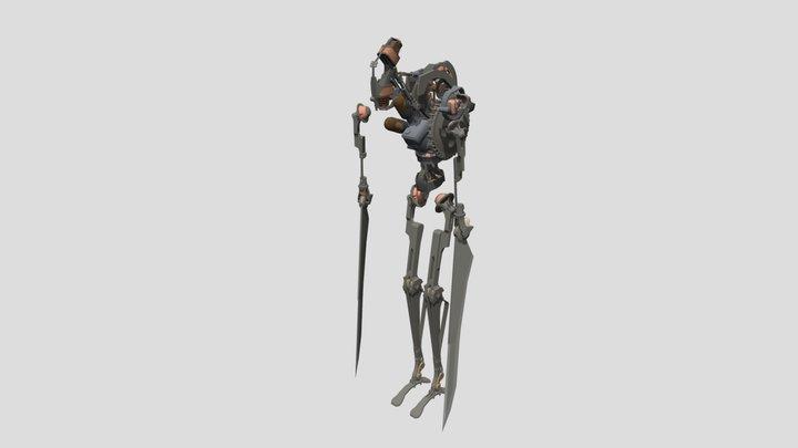 Clockwork Soldier 3D Model