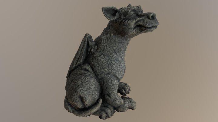 Nugua the Dragon 3D Model