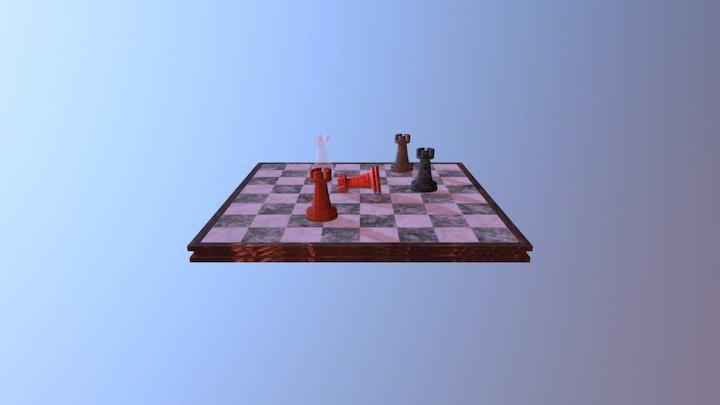 Xadrez 3D Model
