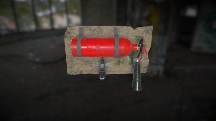Gas Trap 3D Model