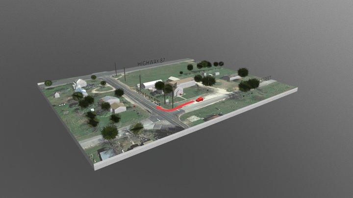 Texasin ampuminen 3D Model