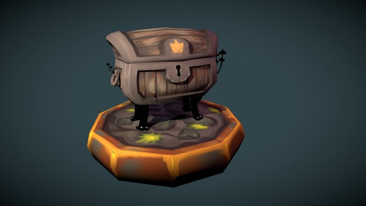 Defintely a treasure chest 3D Model