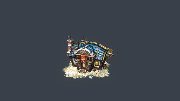 Pirate Tavern concept by greeimm Bae 3D Model