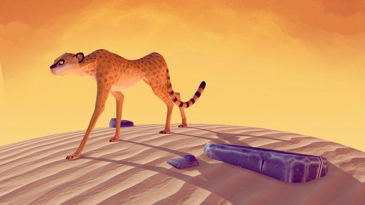 Walking through the desert... 3D Model