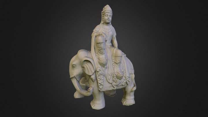 Buddha - 03 3D Model