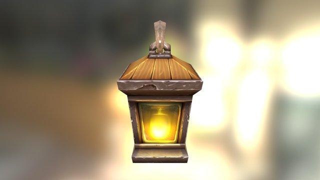 Asset_Lamp 3D Model