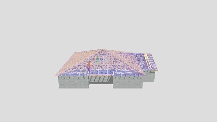 ALOES_2c_MT_słupy_drewniane_(1) 3D Model