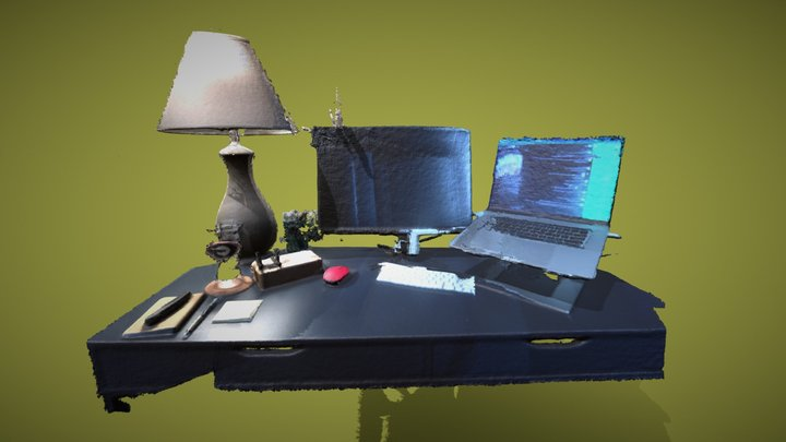 Work(from home)Station 3D Model