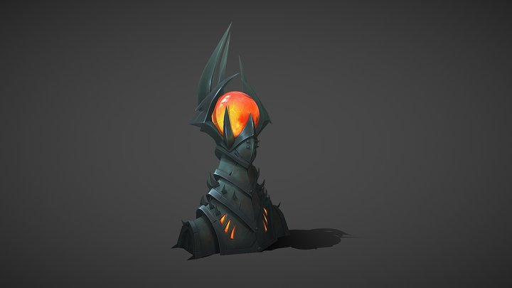 Hell Tower 3D Model