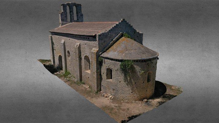 Chapelle Saint-Martin-du-Cardonnet (34) 2020 3D Model