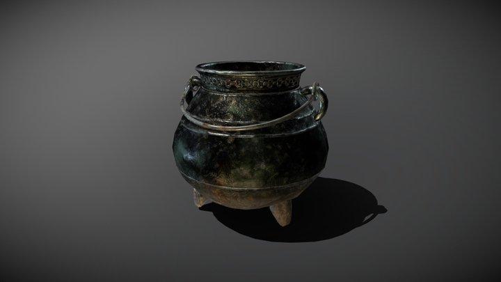 Witch's Cauldron 3D Model