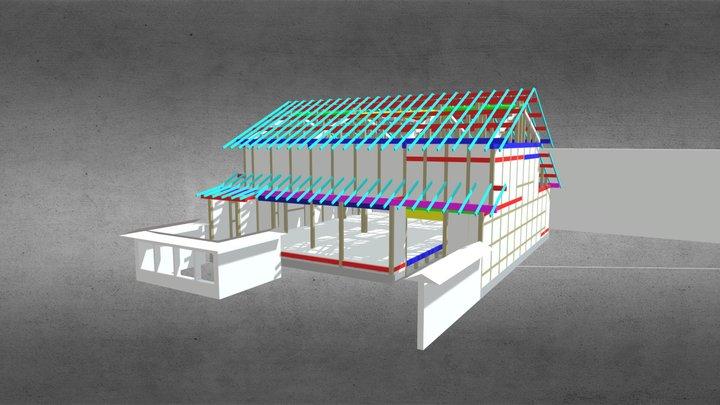 2020w 伝統建物改修プロポ(京都) 3D Model