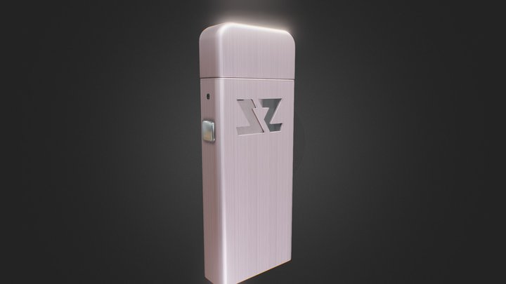 ZeltuX Edition One - Rose Gold | Brushed Cap 3D Model