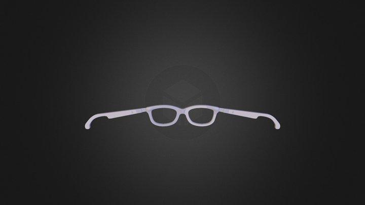Glasses 10 D2 3D Model