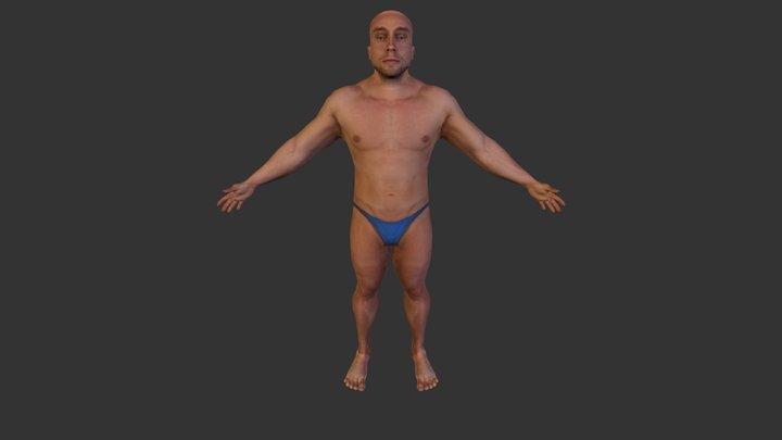 Retop_Materialized 3D Model
