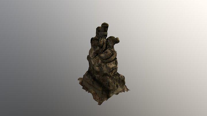 Delphinbrunnen 3D Model