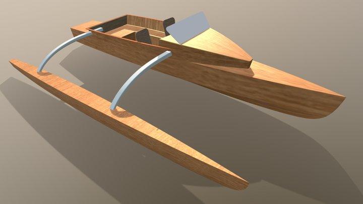 Outrigger 27 3D Model
