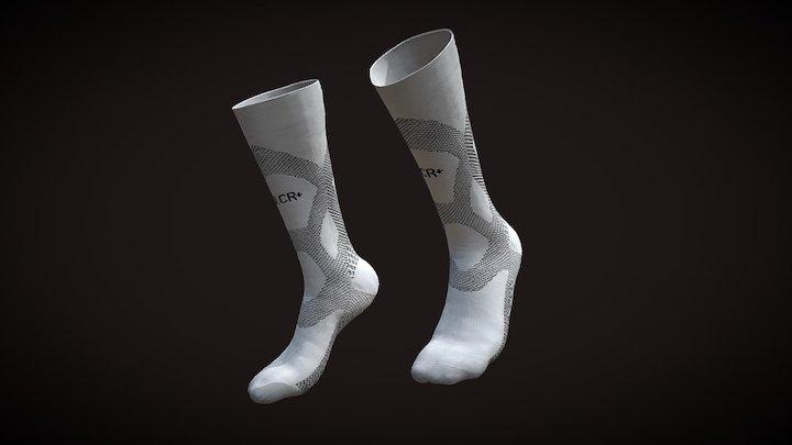 U.CR+ Achill Long Compression Socks 3D Model