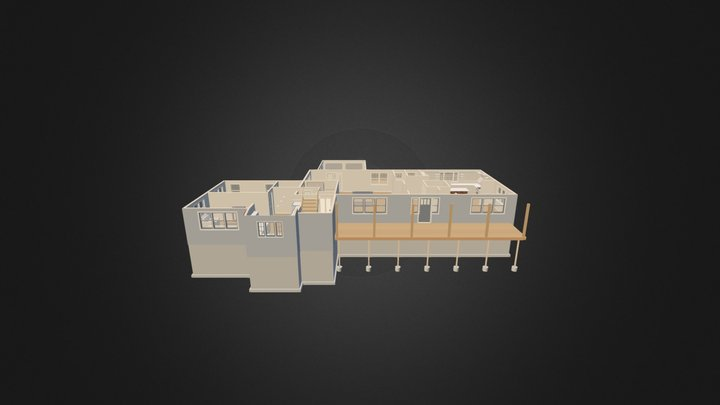 Floor Overview 3D Model
