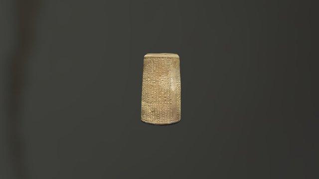 Babylonian Cylinder 3D Model