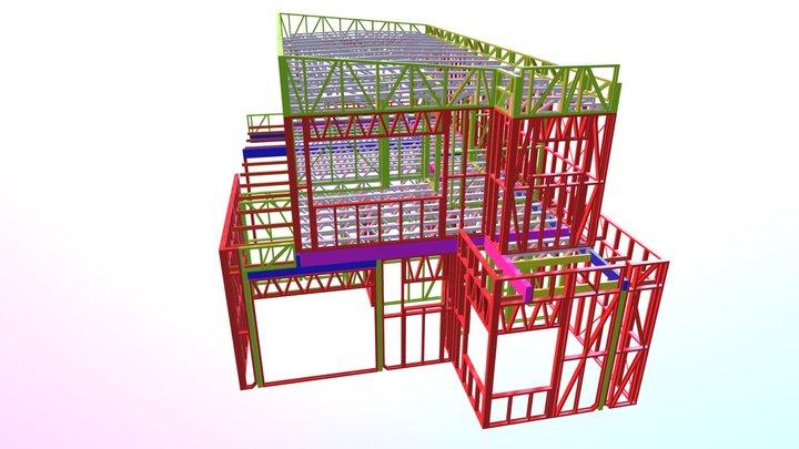 Unit4/ 3d Frame walkthrough 3D Model