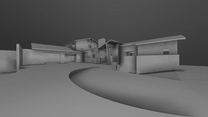 Coal Mountain 3D Model