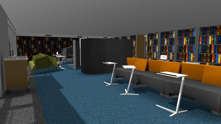 CRAI Nivel 2 / Sede Claustro 3D Model